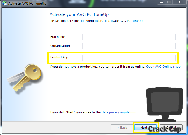 AVG PC Tuneup Crack Plus Product Key Free Download