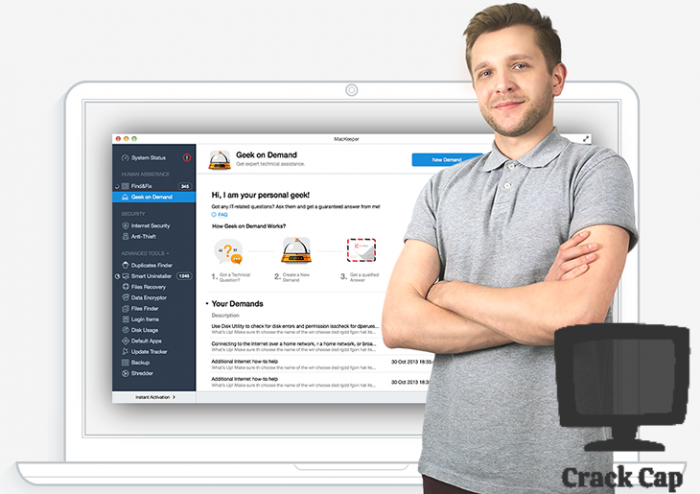 MacKeeper Crack With Full Activation Code Free Download